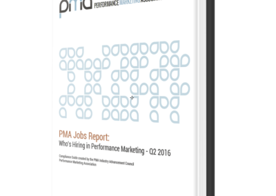 PMA Job Board Report Q3 2016 – Who's Hiring in Performance Marketing