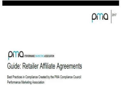 Guide: Retailer Affiliate Agreements (2017)